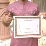 Hon Kenneth Obioha receive Covod19 Charity Award from Umuaka Times.